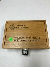 Wiltron /Anritsu 36801K D22010 Universal Test Fixture Right Angle Launcher