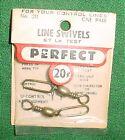 PERFECT LINE SWIVELS, LARGE, NO 211, U/C MODEL AIRPLANES, RED PACKAGE, NIP