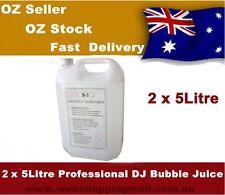 2x 5l Colorful Bubble Machine Fluid Juice Liquid High Grade