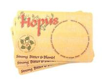 4 Belgian Hopus Beermats / Coasters (COLLECTABLE)