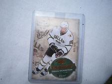 2008-09 UD Artifacts ROOKIE Hockey Card #291 Fabian Brunnstrom! Stars! #/999 RC