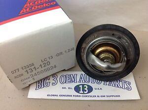 Chevrolet Camaro Pontiac Buick Engine Coolant THERMOSTAT w/ gasket OEM 24505924