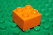 briques 2 base Basic Stein rouge 2x2 5 X  Basic Bricks LEGO® Duplo