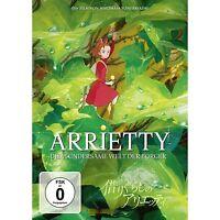 DVD Arrietty Die wundersame Welt der Borger Hiromasa Yonebayashi Anime Trickfilm