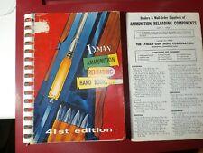 41st Lyman Reloading Handbook c.1957