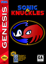 Sonic and Knuckles SEGA Genesis Video Game