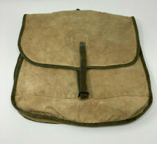 1950's Boy Scout BSA Backpack Canvas Day Hike Musette Bag Diamond Brand
