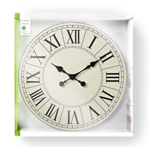 Nedis Large Round Roman Numeral Modern Home Minimalist Kids Wall Clock 50CM