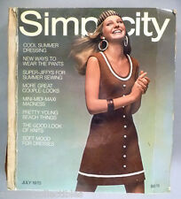Simplicity Patterns CATALOG - 1970 ~~ Large Store Counter Pattern Book