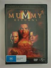 The Mummy Returns Unearthed Edition DVD.  Brand new and sealed. Region 2, 4 PAL.