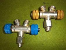 Doppelabzweigventil für Autogenschweißgerät Acetylen Sauerstoff Autogen