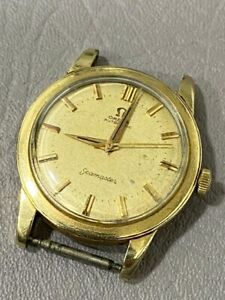 OMEGA SEAMASTER CAL. 500 GOLD FILLED CASE WATCH FOR MENS