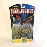 Hawkman DC TOTAL JUSTICE ACTION FIGURE Kenner 1996 Hasbro Jla Collector USA Rare