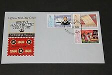 BRITISH ANTERTIC TERRITORY 1977 QUEEN ELIZABETHS SILVER JUBILEE FIRST DAY COVER