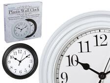 "8"" Large Wall Clock Vintage Kitchen Bedroom Home Round Modern Retro Time Quartz"