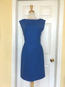 ANN TAYLOR LOFT blue dress size 10