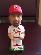 Mark McGwire St Louis Cardinals Lansing Lugnuts Bobblehead Bobble AGP SGA w Stub