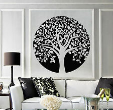 Vinyl Wall Decal Family Circle Tree of Life Celtic Style Nature Stickers 1246ig
