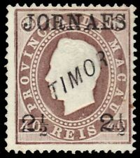 "TIMOR P2b (Mi22C) - King Luiz ""Newspaper Provisional"" (pa30848)"