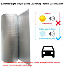 Car Thermal Sound Deadener Heat Shield Insulation Mat 80
