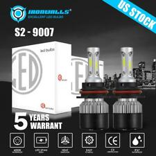 IRONWALLS 9007 HB5 LED Headlight Bulbs Hi Low Beam for Dodge Ram 1500 2002-2005