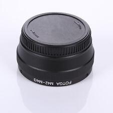 FOTGA M42 Lens W/ Cap to Micro 4/3 Adapter for E-P1 E-P2 E-PL1 GF1 GF2  GH1 GX7