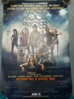 Rock Of Ages Movie Poster Double Sided Rolled Used Original Catherine Zeta Jones