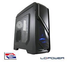 LC-Power - ATX-Gaming-Gehäuse - Gaming 979B Silver Strike - USB3.0, 2x 120mm Fan
