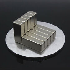 BL_ 1Pc 20x8x5mm Super Strong Blocks Bar Rare-Earth Neodymium Fridge Magnet Grac