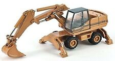 Case 988 HYDR - Wheeled Excavator - 1/87th Scale Yellow/Black - Tracked 48 Post