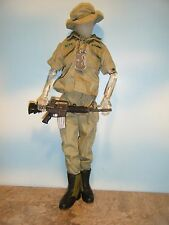 GI JOE CLUB EXCLUSIVE CLEAR GI JANE FIGURE & FATIGUE SET