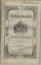 The Knickerbocker Or New York Monthly Magazine, August 1852, Vol XL No 2