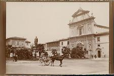Italie, Bologne, Piazza Minghetti Vintage citrate print, Tirage citrate  6