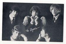 The Byrds 1960's Bio Back Billboard Exhibit Arcade Card