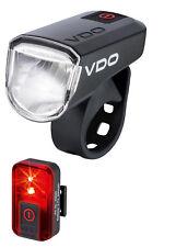 VDO Ensemble de lampes vélo eco Light M30 Set 4000 lumière Feu arrière 30 Lux
