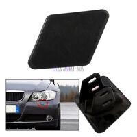 For BMW E90 E91 320i 325i 330i Bumper Headlight Washer Nozzle Cover Primed Left