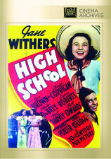 High School 1940 (DVD) Jane Withers, Joe Brown Jr., Paul Harvey - New!