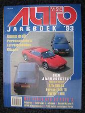 Auto Visie Jaarboek 93 ( 1993 )