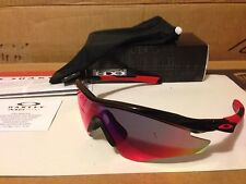 NEW Oakley M2 Frame AF Sunglasses Polished Black Positive Red Iridium OO9254-06