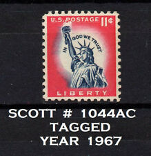 UNITED STATES, SCOTT # 1044AC, TAGGED STAMP OF STATUE OF LIBERTY, SMALL FAULT