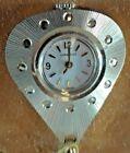 VTG Caravelle Bulova Lady Gold Tone Necklace Pendant Pocket Watch w/box & case
