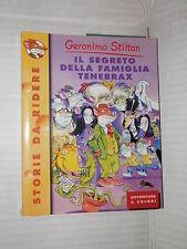 IL SEGRETO DELLA FAMIGLIA TENEBRAX Geronimo Stilton Piemme Junior 2002 narrativa
