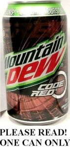 Mountain Dew Code Red Cherry Canadian FULL Dewmocracy Winner Pepsi Canada 2016