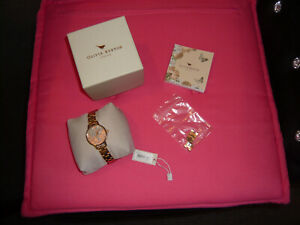 olivia burton london watch with original box model ob16mv88