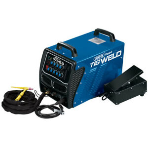 Ex Demo Draper 51499 ACDC160P Expert 160A 230V TIG HF Welder
