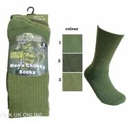 Men's Work Socks Military Boots Combat Patrol Chunky Hiking Thermal Socks 6-11 S