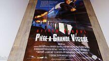 steven seagal PIEGE A GRANDE VITESSE ! affiche cinema karate
