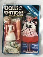 Craft House Dolls Of All Nations Miss Switzerland Make A Doll Kit