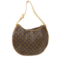 LOUIS VUITTON CROISSANT GM HAND TOTE BAG CA0033 PURSE MONOGRAM M51511 36701