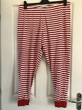Women's Casual Bottoms/ Pyjama Bottoms, Red & White Stripe, Size 20-22, George